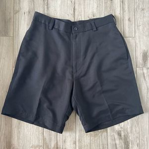 Roundtree & Yorke Easy Care Black Mens Shorts 34x9